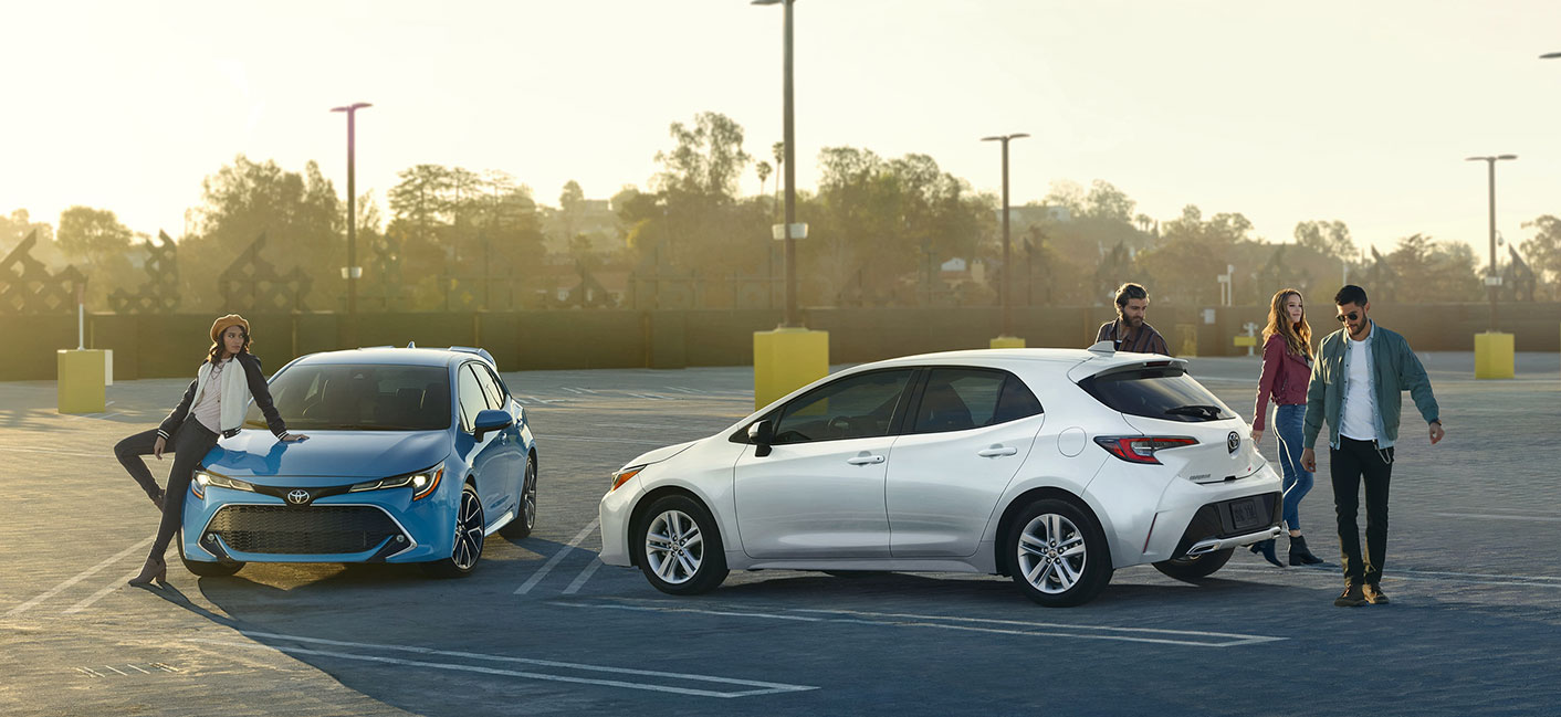 The 2019 Toyota Corolla Hatchback is available at our Toyota dealership in Atlanta, GA.