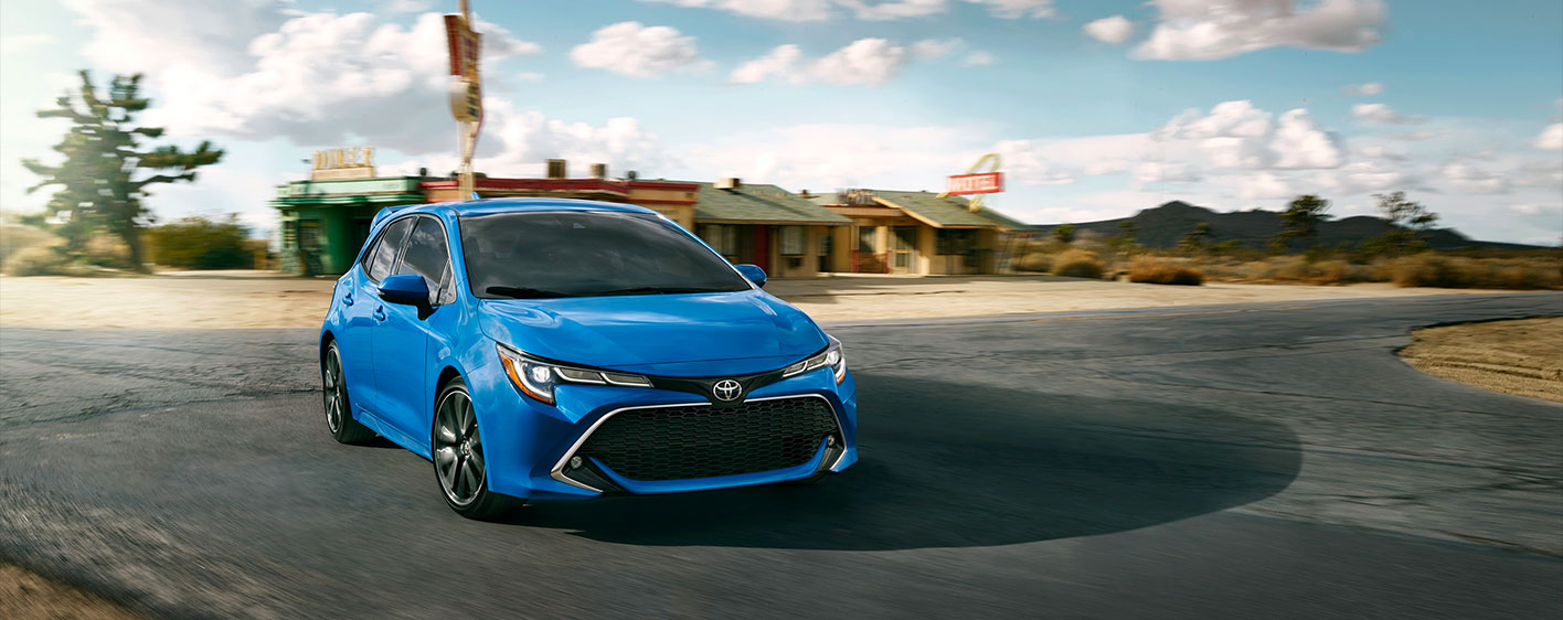 2019 Toyota Corolla Hatchback Exterior - Driving on the road