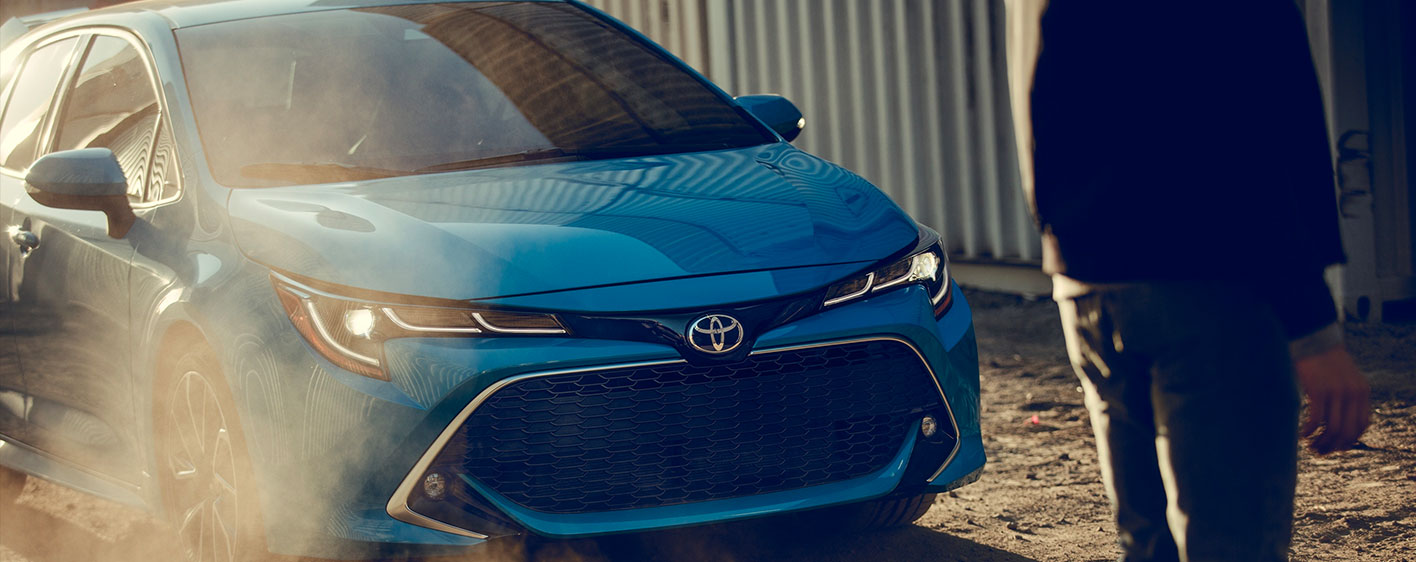 2019 Toyota Corolla Hatchback Exterior - Braking