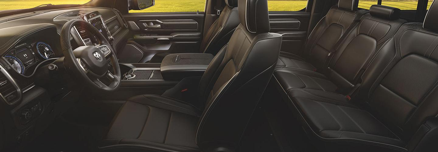 Interior image of the 2020 Ram 1500 for sale in Homestead Florida