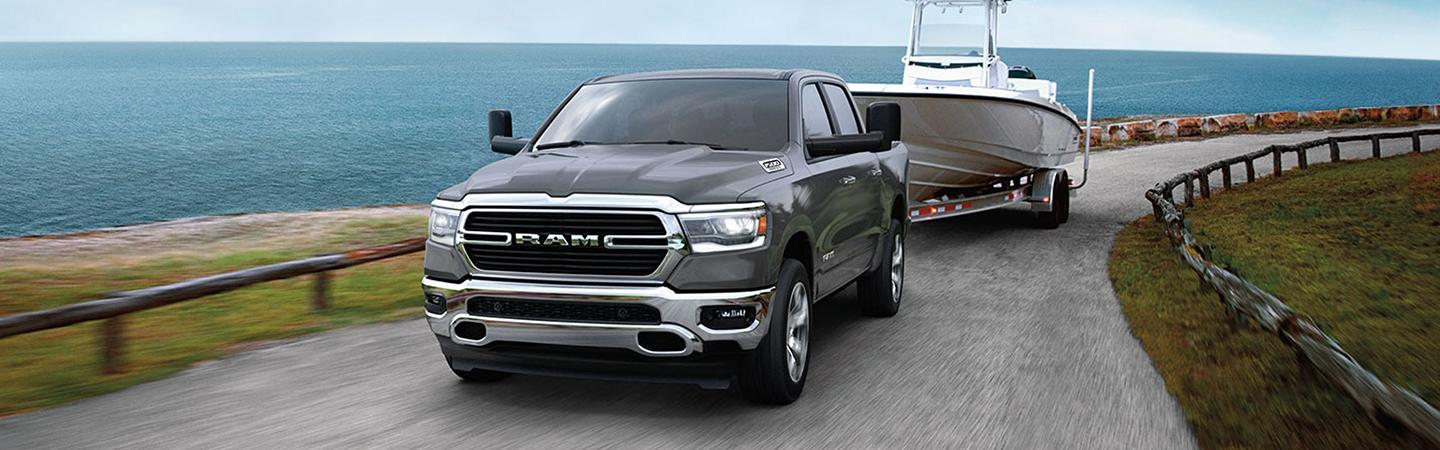 Exterior image of the 2020 Ram 1500