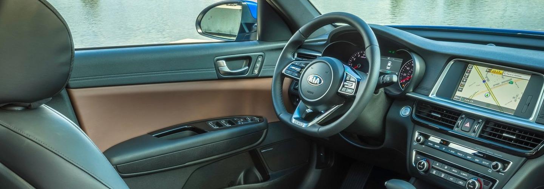 Interior image of the 2020 Kia Optima