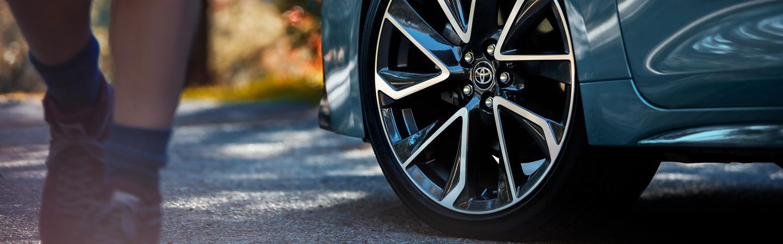 2020 Toyota Corolla Hybrid tire