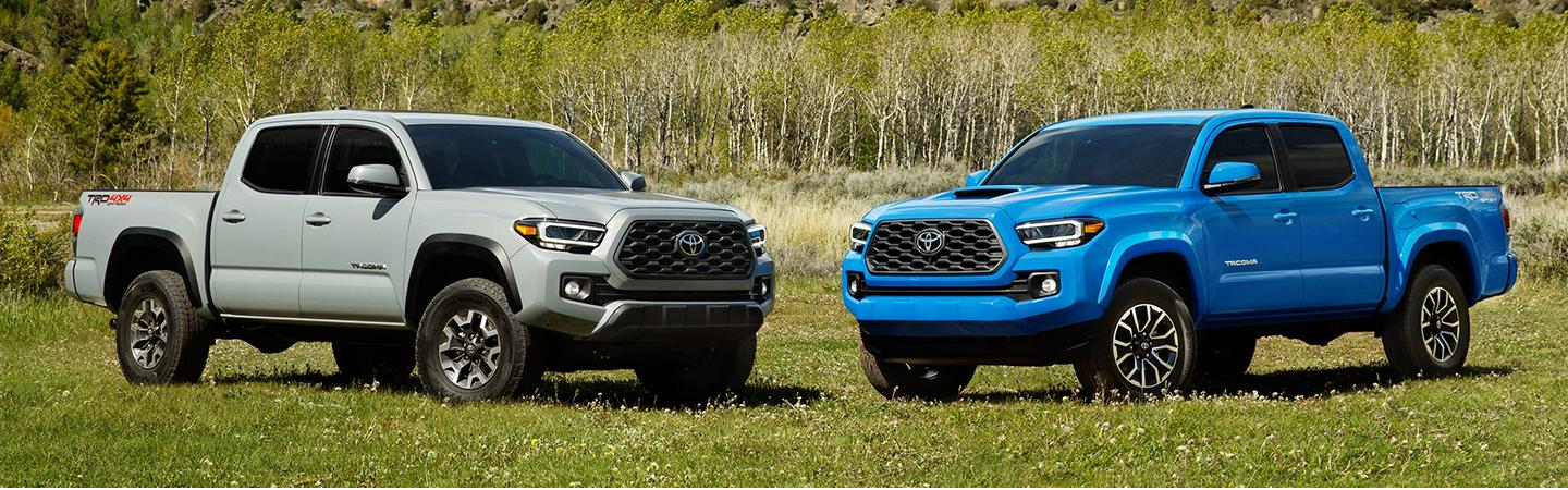Exterior image of the 2020 Toyota Tacoma for sale