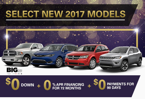 Select New 2017 Models