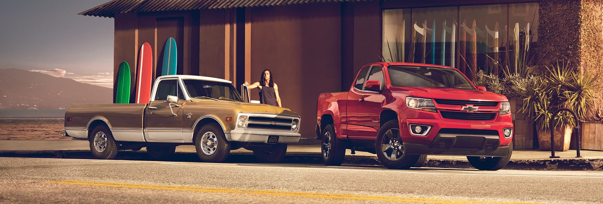 Exterior image of the 2020 Chevy Colorado