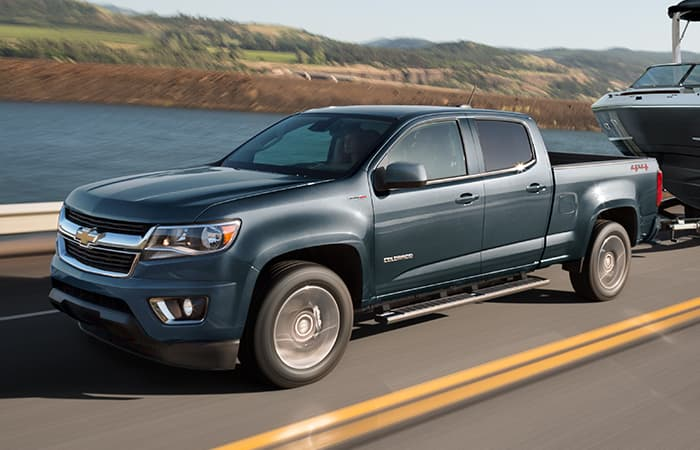 Picture of the 2020 Chevy Colorado