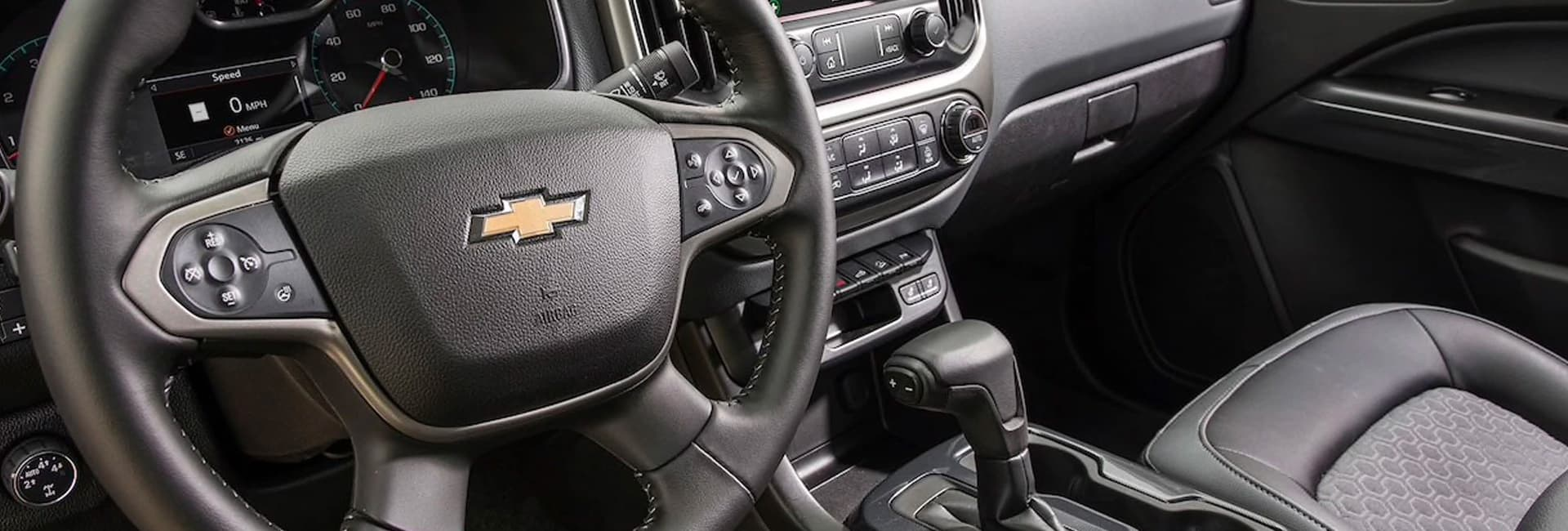 Interior image of the 2020 Chevy Colorado