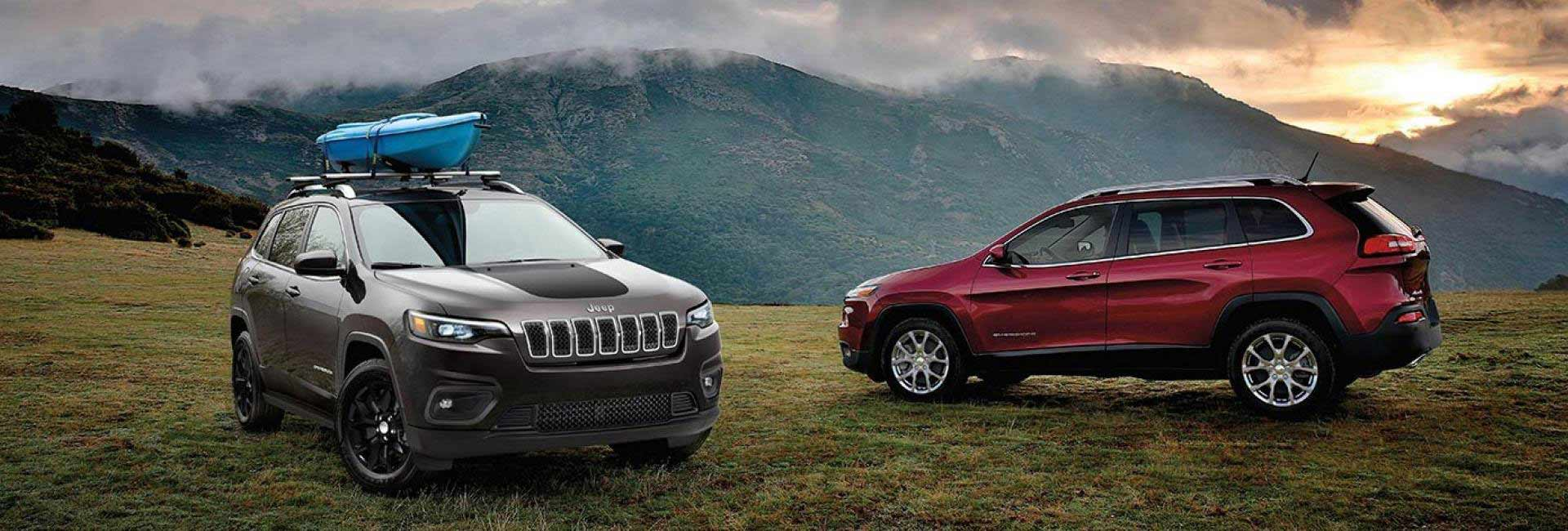 Exterior image of the 2020 Jeep Cherokee
