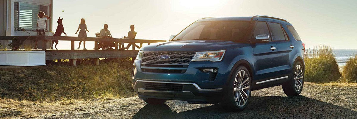 The 2018 Explorer is available at Rivertown Ford in Columbus, GA