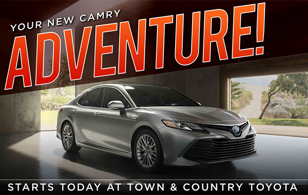 2018 toyota camry for sale at town and country toyota in charlotte nc. Black Bedroom Furniture Sets. Home Design Ideas