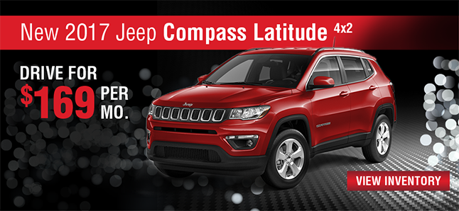2017 JEEP COMPASS LATITUDE 4X2 Naples Chrysler Dodge Jeep RAM Naples, FLorida