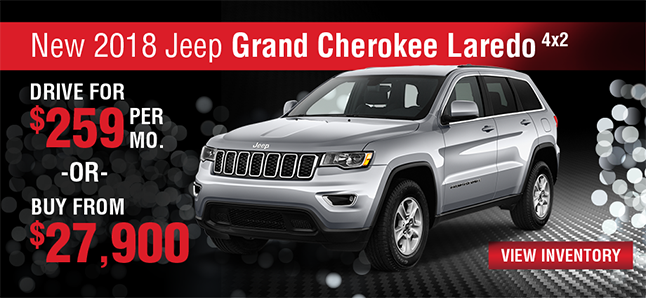 2017 JEEP GRAND CHEROKEE LAREDO 4X2 Naples Chrysler Dodge Jeep RAM Naples, FLorida