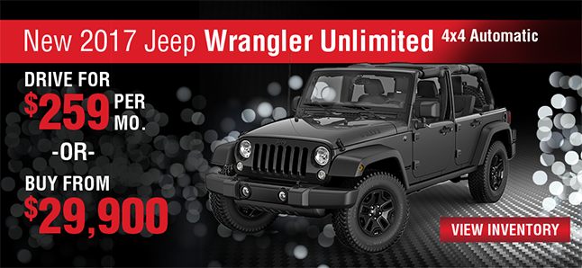 2017 JEEP WRANGLER UNLIMITED 4X4 AUTOMATIC Naples Chrysler Dodge Jeep RAM Naples, FLorida