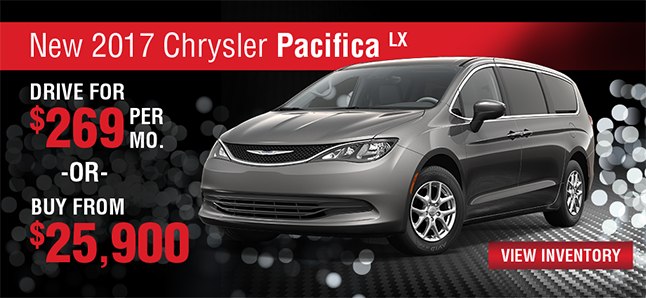 2017 CHRYSLER PACIFICA LX Naples Chrysler Dodge Jeep RAM Naples, FLorida