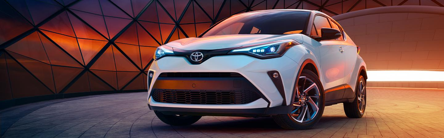 Picture of the 2020 Toyota C-HR for sale at Spitzer Toyota Monroeville PA