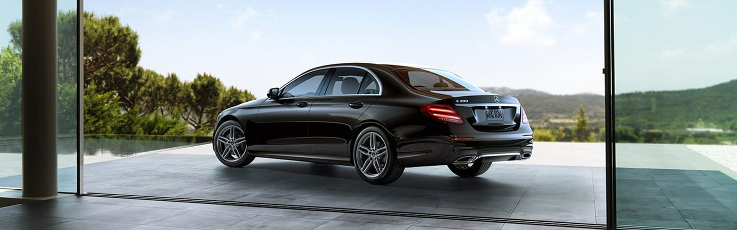 The 2019 Mercedes-Benz E-Class parked outside in Gainesville, FL