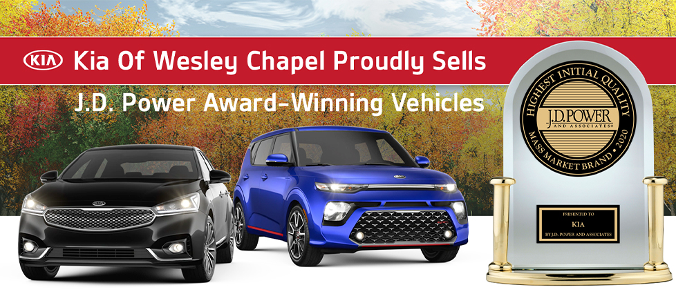 Kia of Wesley Chapel Proudly Sells Award Winning Vehicles
