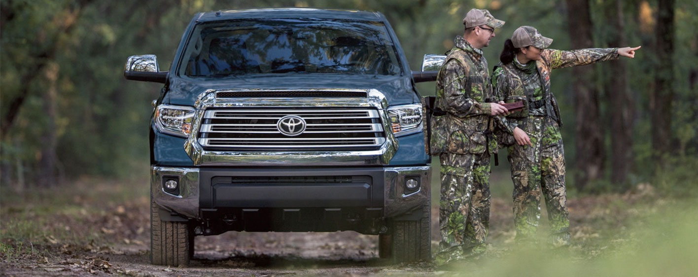 2019 Toyota Tundra Exterior - Parked in the woods