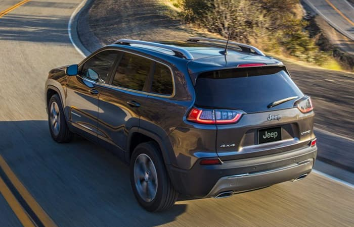Exterior of the 2020 Jeep Cherokee
