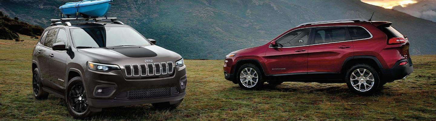 2020 Jeep Cherokee For Sale at Spitzer CDJR Cleveland Ohio