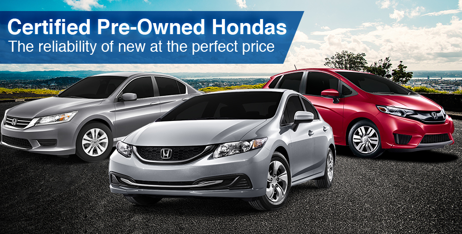 Certified Pre-Owned Hondas Honda of Ocala Florida