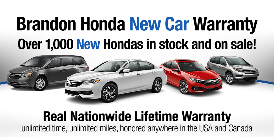 brandon honda lifetime warranty