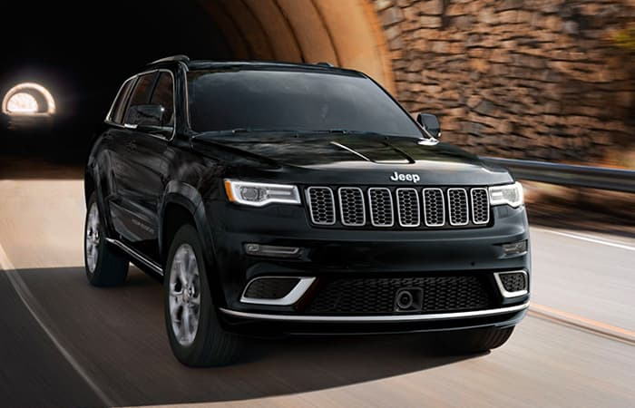 Exterior of the 2020 Jeep Grand Cherokee