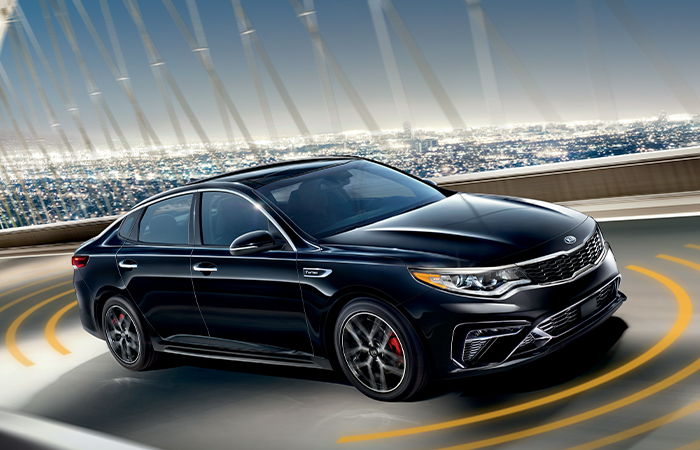 Exterior image of the 2020 Kia Optima