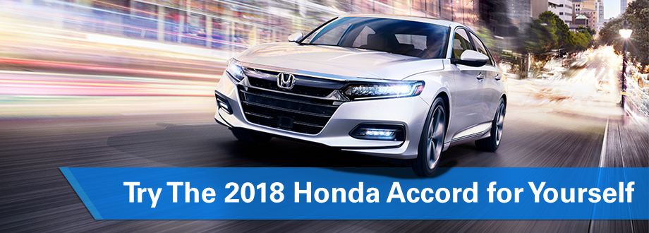 Test-drive the 2018 Honda Accord, Honda of Ocala, Ocala, Gainesville, The Villages, FL