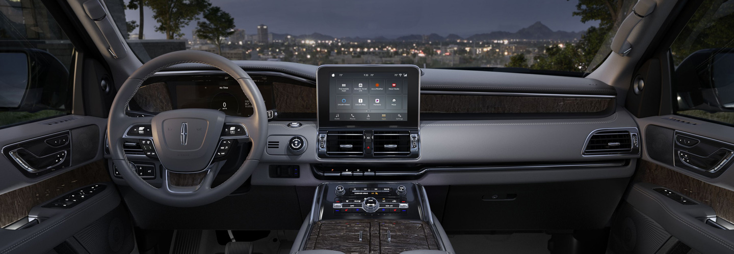 Interior of the 2019 Lincoln Navigator, available at Coccia Lincoln in Wilkes-Barre, PA