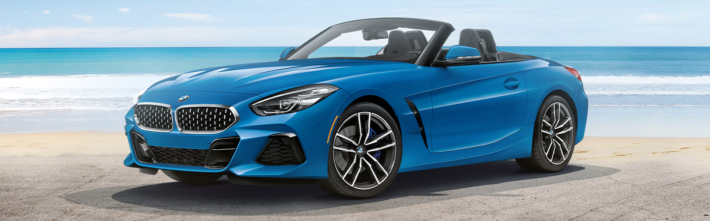 Exterior of the 2020 BMW Z4 available at Vista BMW Pompano Beach