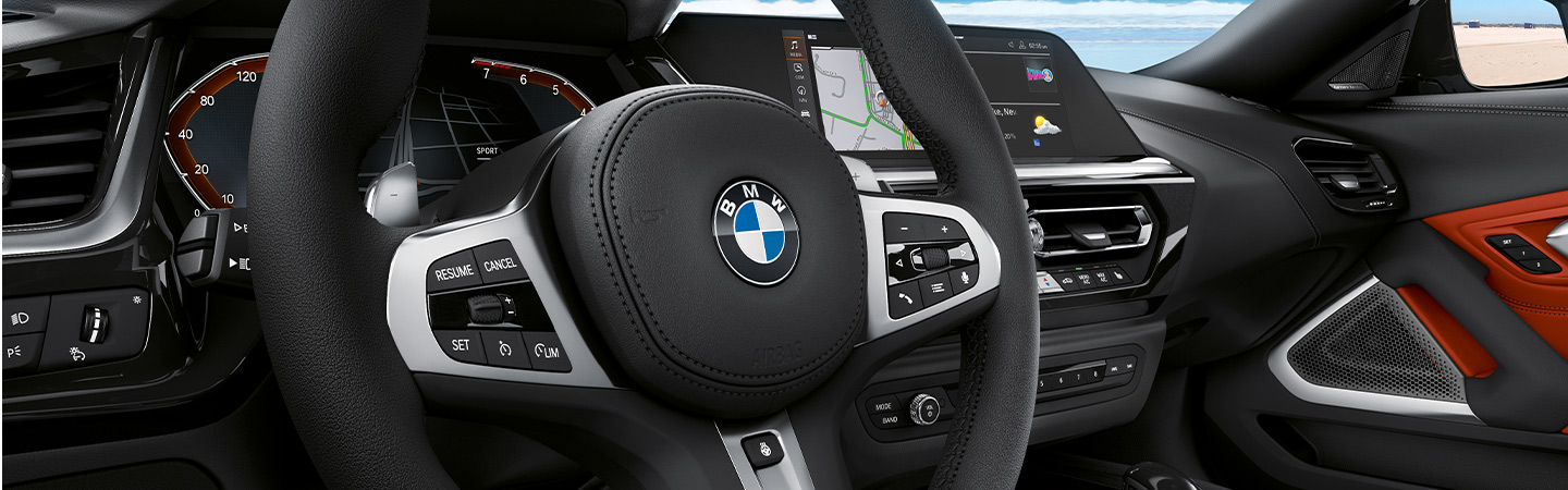 Exterior of the 2020 BMW Z4 near Fort Lauderdale, FL