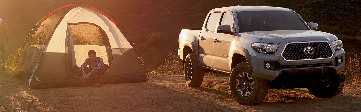 2019 Toyota Tacoma with tent