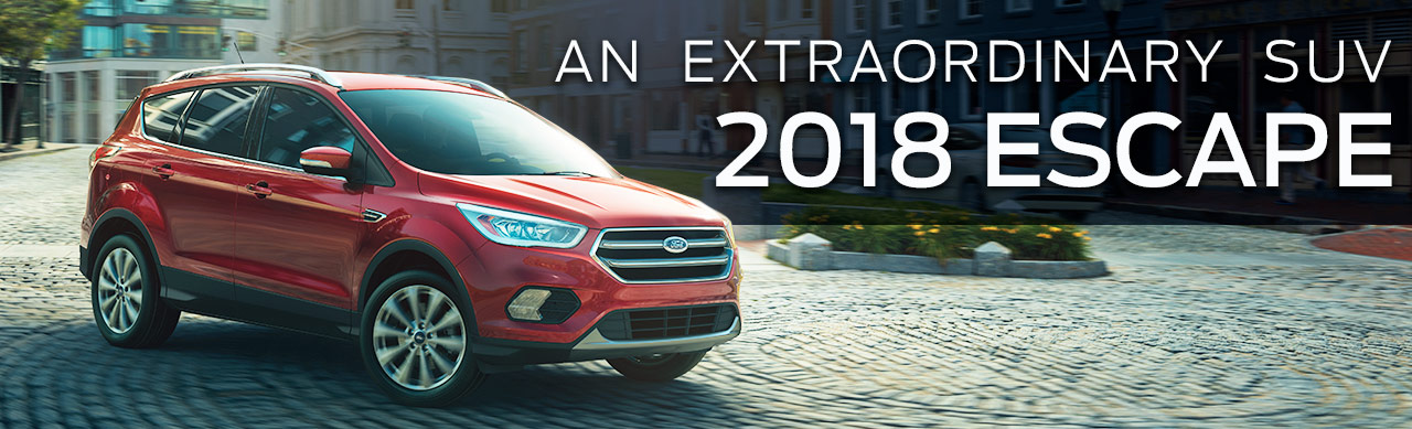 The 2018 Escape is available at Ford of Port Richey near Land O' Lakes, FL