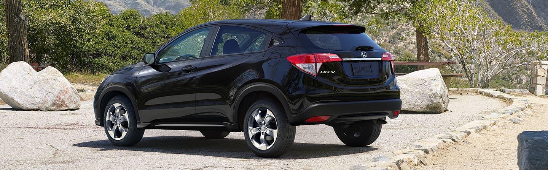 Black 2019 Honda HR-V - Trunk and tailgate