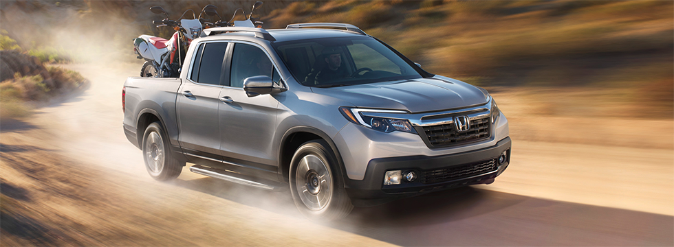 The 2019 Honda Ridgeline is available at our Honda dealership in Naples, FL.