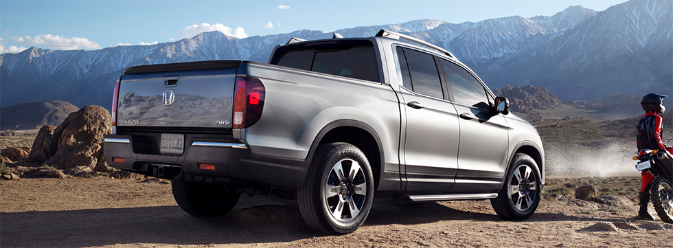 Exterior of the 2019 Honda Ridgeline - available at our Honda dealership near Fort Myers, FL.