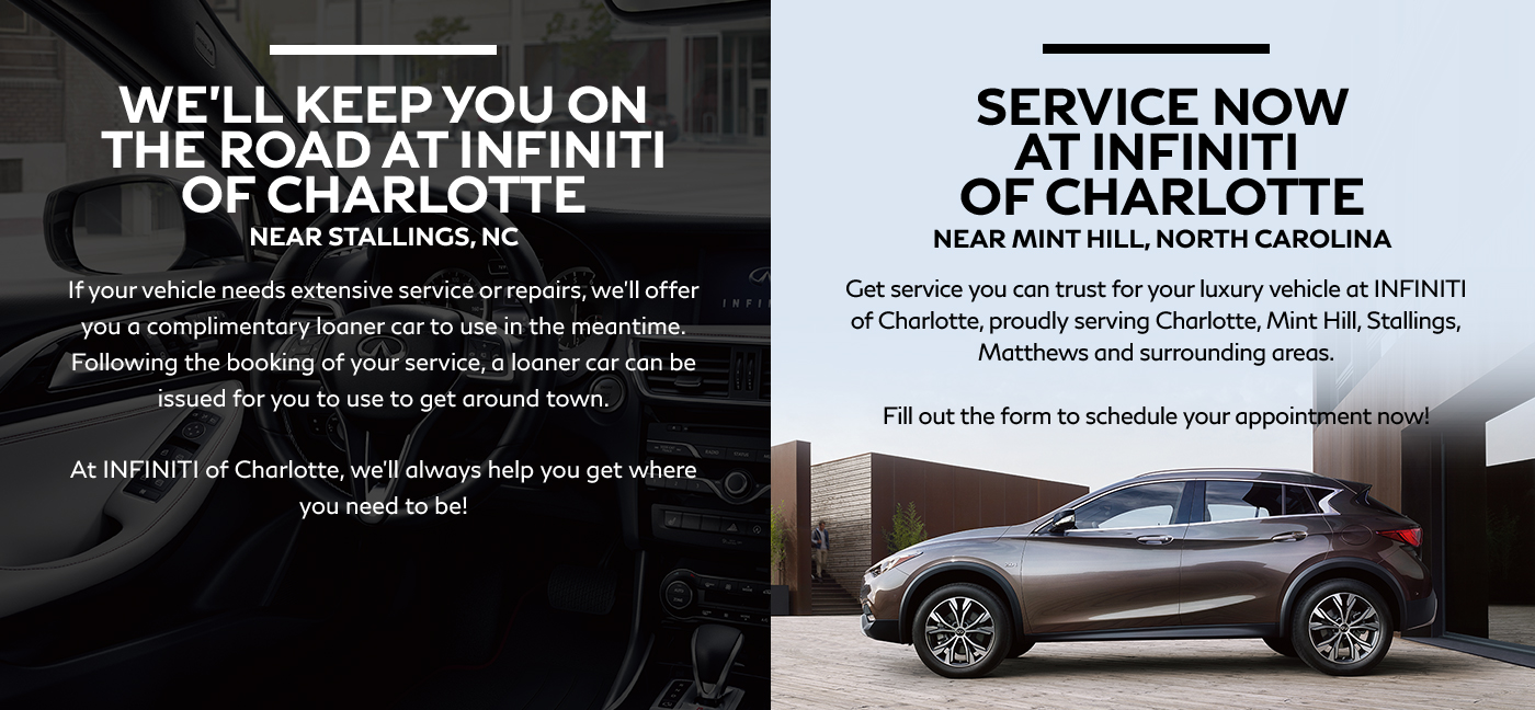 Infiniti Of Charlotte >> Top Reasons Why You Should Service At Infiniti Of Charlotte