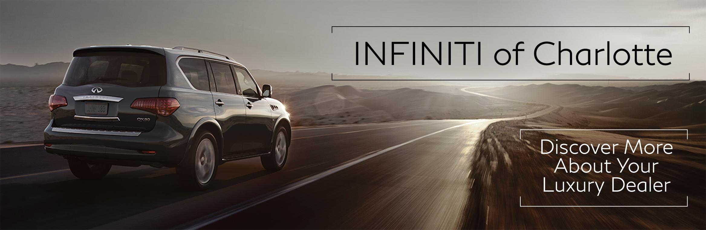 Infiniti Of Charlotte >> About Infiniti Of Charlotte Your Luxury Vehicles