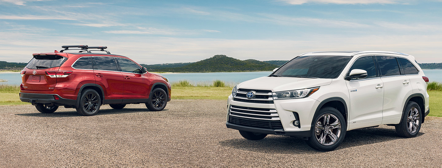 Explore our inventory of Toyota SUVs available at Rivertown Toyota