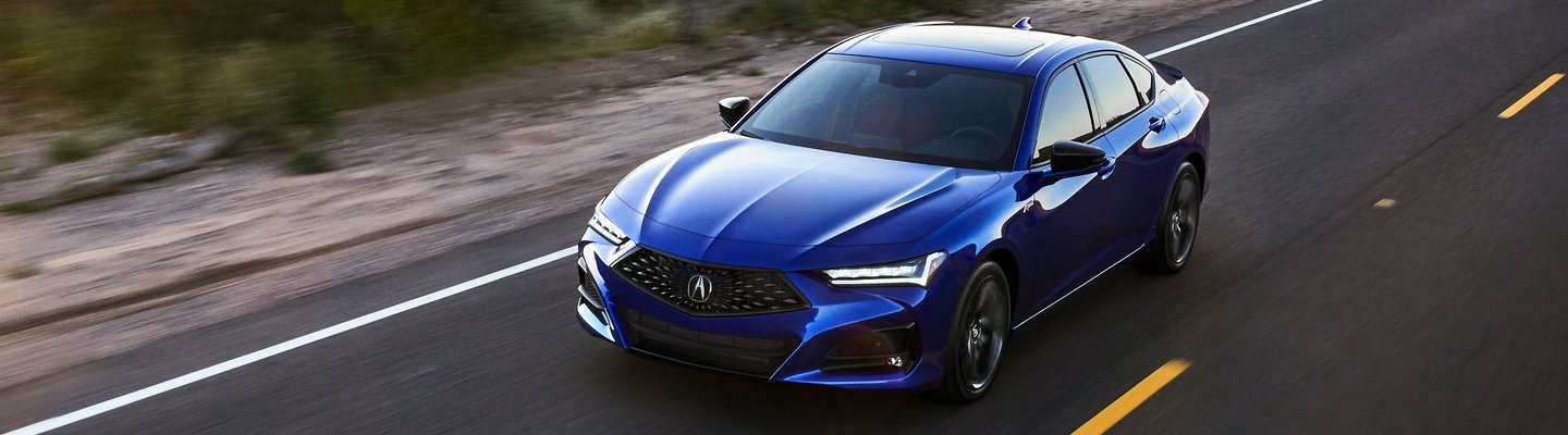 Side profile view of a 2020 Acura model.