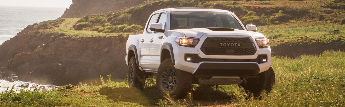 2019 Toyota Tacoma parked in Rock Hill, SC.