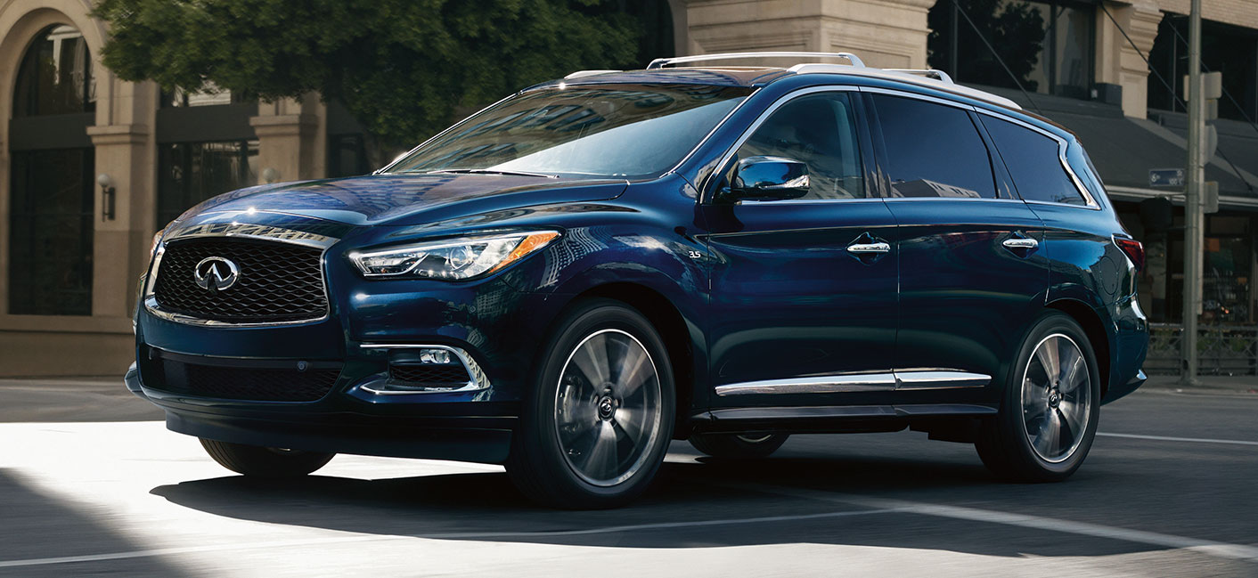 The 2019 INFINITI QX60 is available at our INFINITI dealership in Oklahoma City, OK.