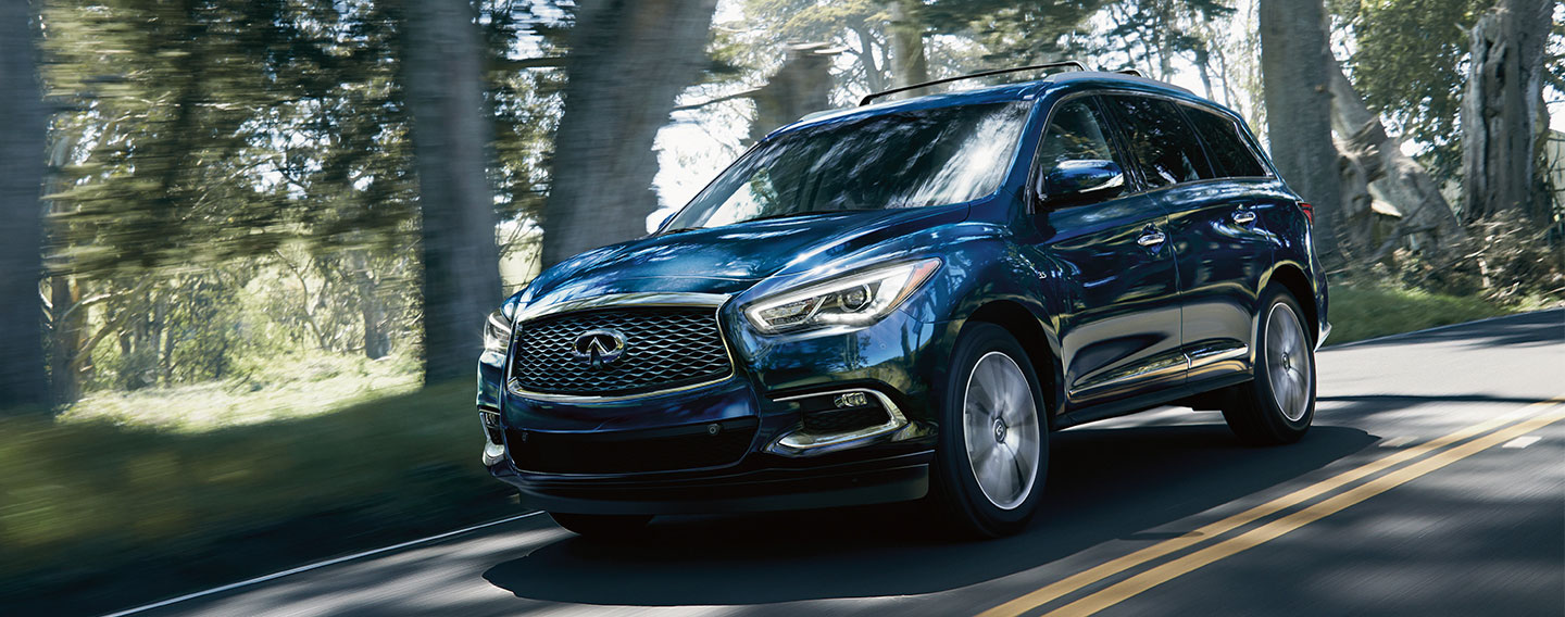 2019 INFINITI QX60 Exterior - Driving on the road