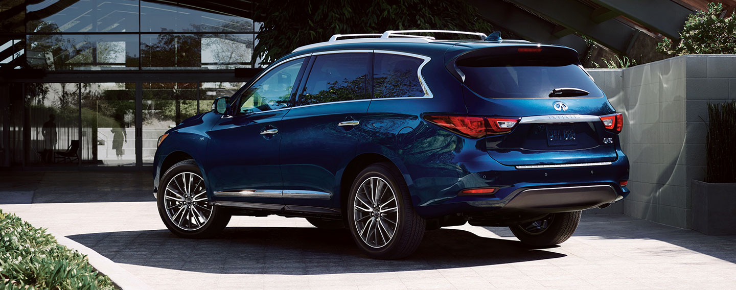 2019 INFINITI QX60 Exterior - Rear View Parked on the road