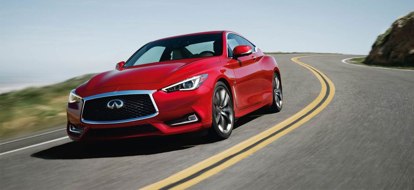 The 2018 INFINITI Q50 and INFINITI Q60 are available at South Motors INFINITI in Miami, FL