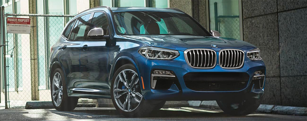 2019 BMW X3 Exterior - Parked in a parking lot.