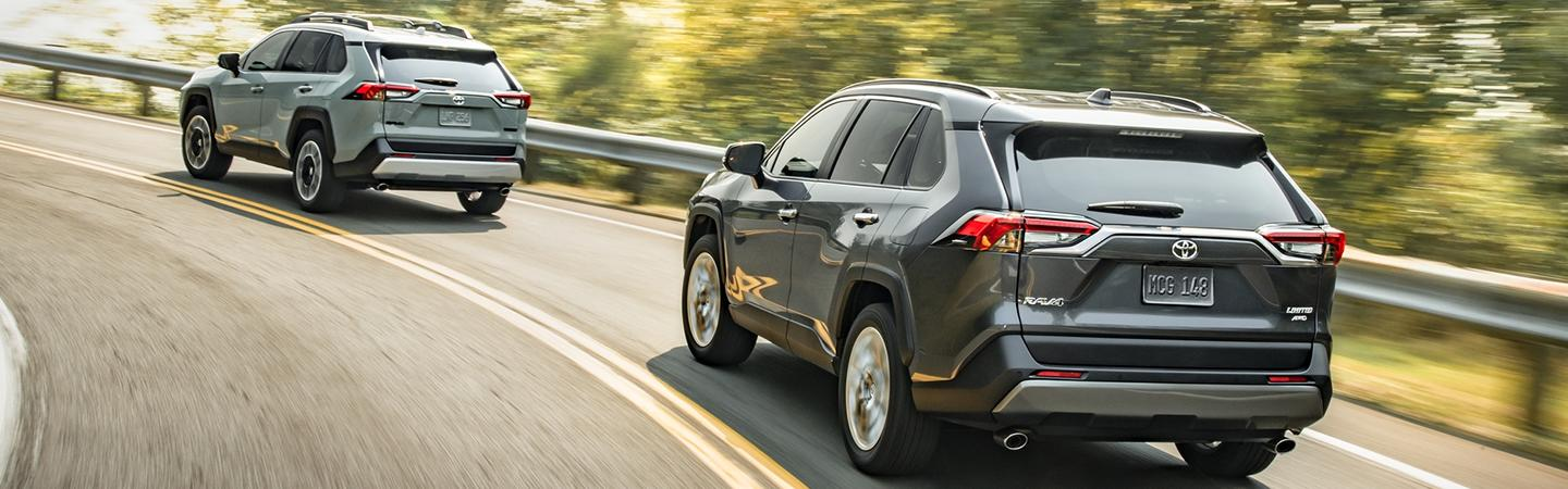 Exterior image of the 2020 Toyota RAV4