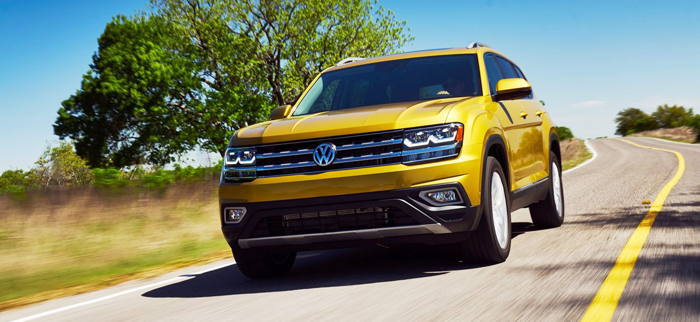 The 2018 Volkswagen Atlas is available at our Volkswagen dealership near Fort Lauderdale, FL.